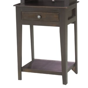 End Table with Storage by Eagle Furniture Manufacturing