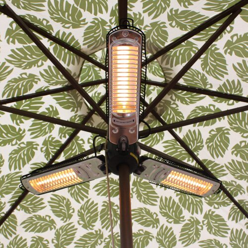 Parasol 1500 Watt Electric Hanging Patio Heater
