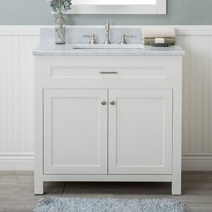 Cecilton 36  Single Bathroom Vanity Set Vanities Joss Main
