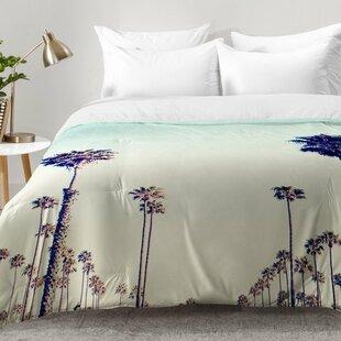Merveilleux California Palm Trees Comforter Set