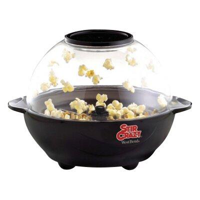 West Bend Stir Crazy 6 Quart Popcorn Popper Reviews Wayfair