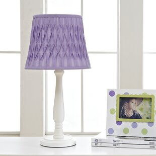 Purple shade table lamps youll love wayfair save aloadofball Image collections