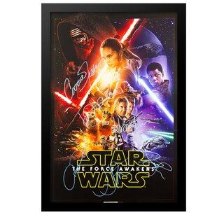 framed movie posters star wars wayfair