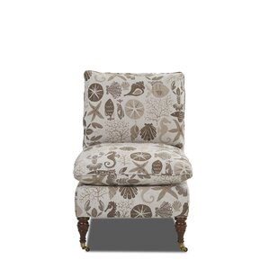Muirwood Slipper Chair by Rosecliff Heights