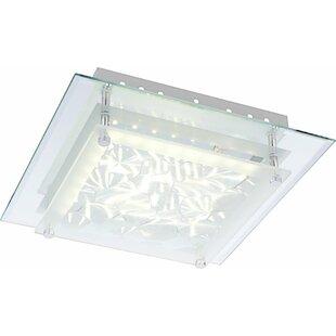 Algarve 1-Light LED Flush Mount by Home Loft Concept