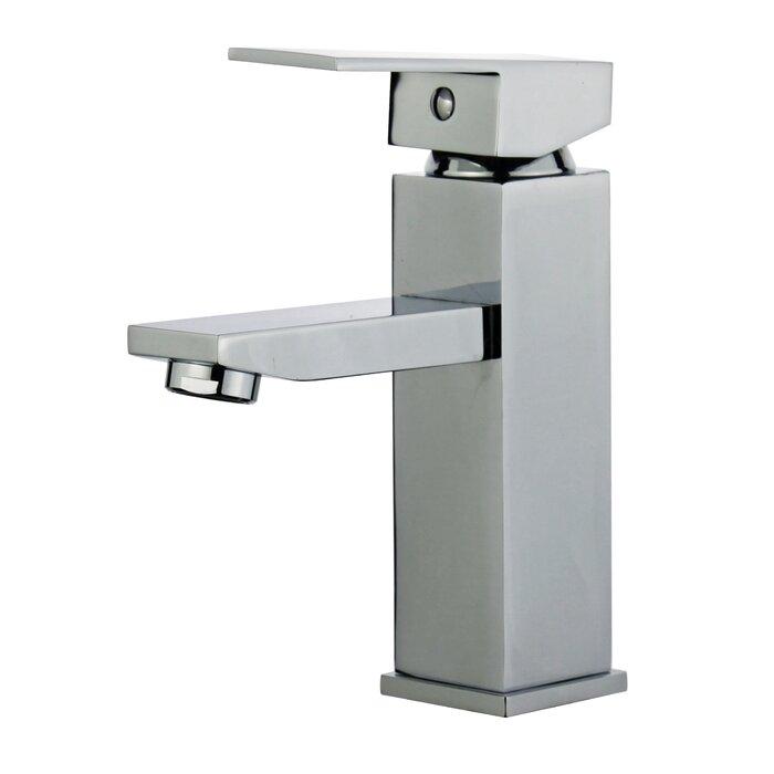 Bellaterra Home Granada Single Handle Bathroom Faucet With Drain