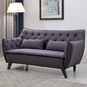 Mid-Century Modern Loveseat by Madison Home USA