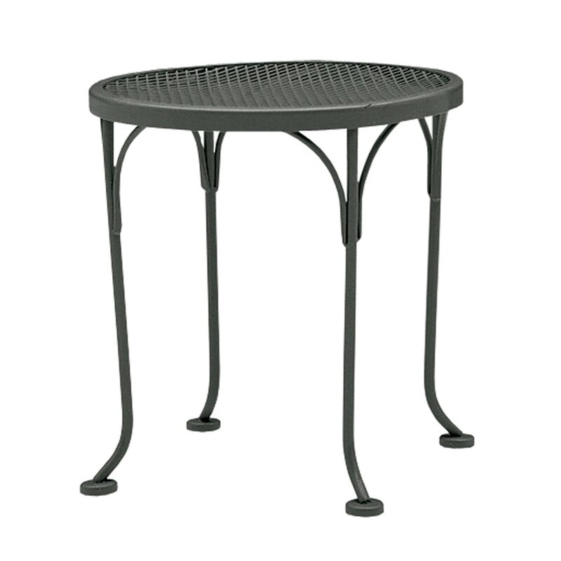 Bon Briarwood Metal Side Table