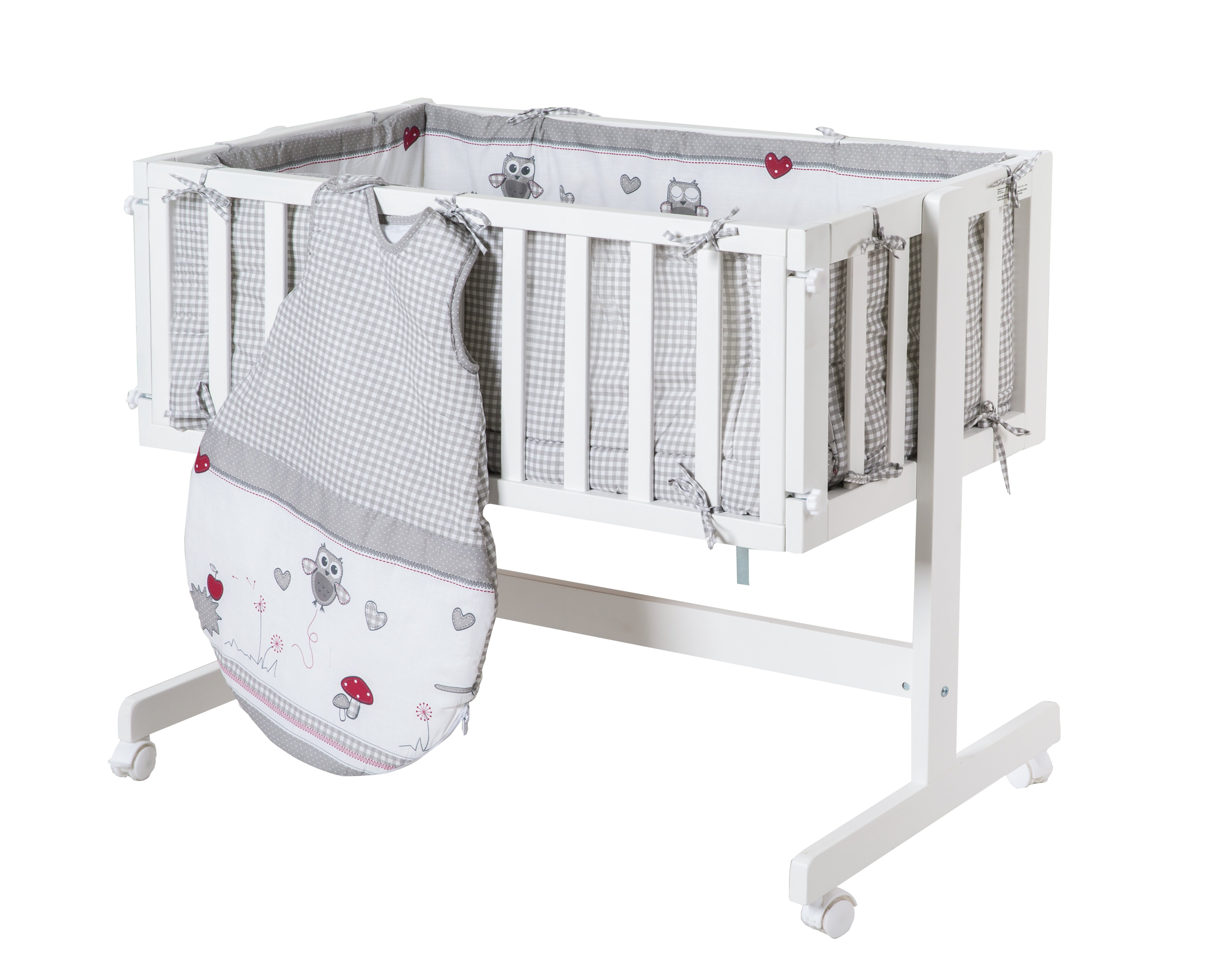 Stubenwagen & babywiegen: gestellmaterial holz zum verlieben