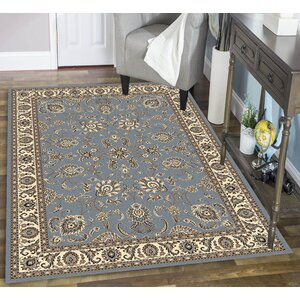 Weiser Rectangle Blue Area Rug