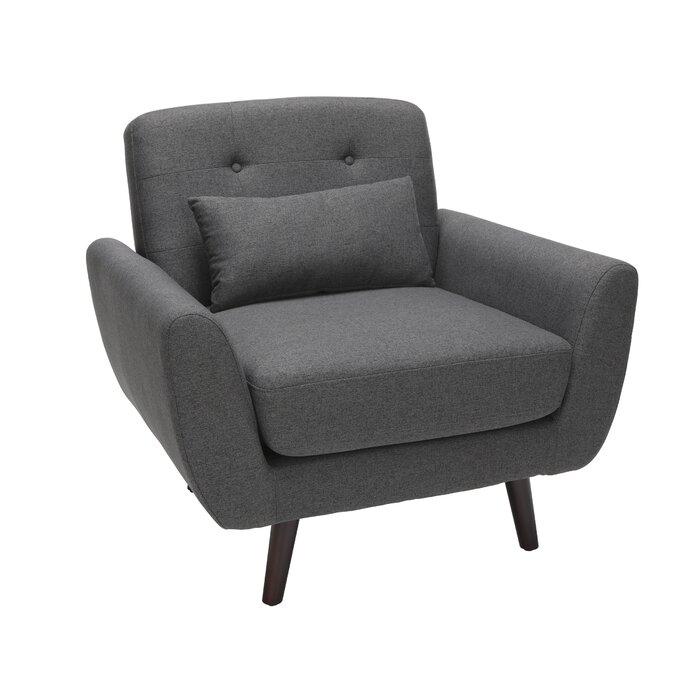 Stupendous Belliveau Mid Century Modern Armchair Inzonedesignstudio Interior Chair Design Inzonedesignstudiocom