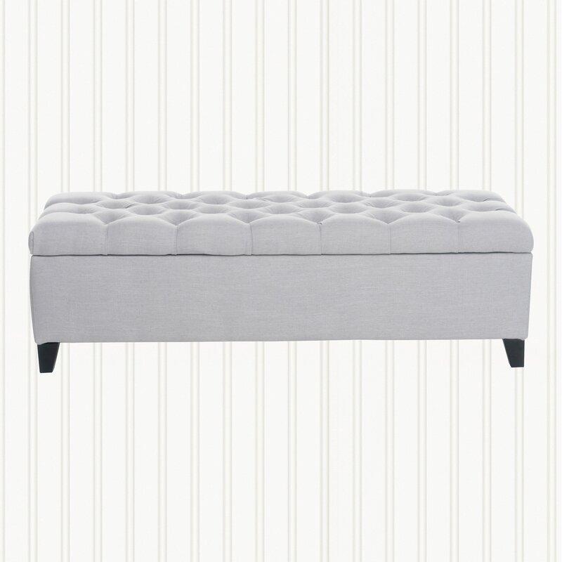 Amalfi Upholstered Storage Ottoman
