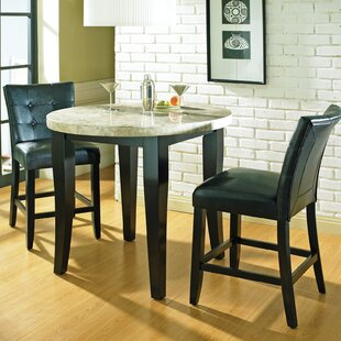 Chloe Counter Height 3 Piece Pub Table Set