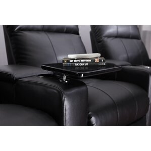 Home Theater Recliner Row of 4 by Latitude Run