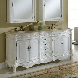 Alexis 72 Double Bathroom Vanity Set