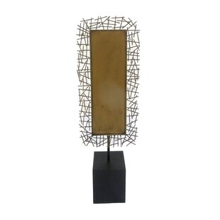 Metal Tabletop Sculpture | Wayfair