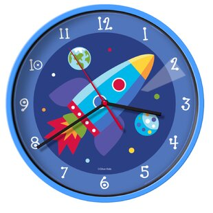 Olive Kids Out Of This World 12 Wall Clock