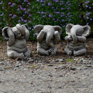 Elephant Garden Statue | Wayfair co uk