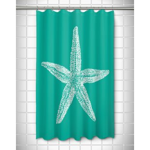 Starfish Shower Curtains | Wayfair