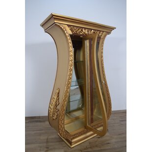 Phaidra 2 Door Lighted Curio Cabinet