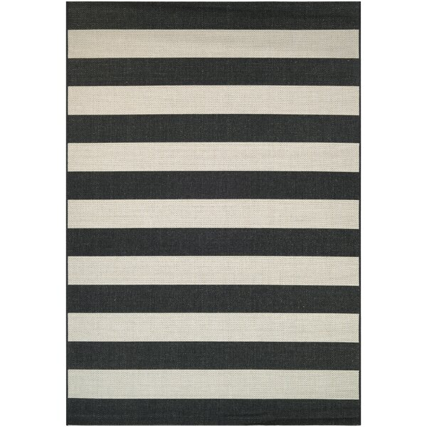 Gallinas Onyx Ivory Indoor Outdoor Area Rug Amp Reviews