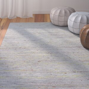 Deadra Hand-Woven Grey/Gold Area Rug