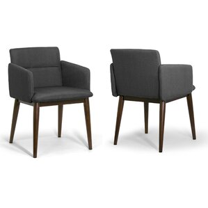 Aila Arm Chair (Set of 2) by Glamour Home Decor
