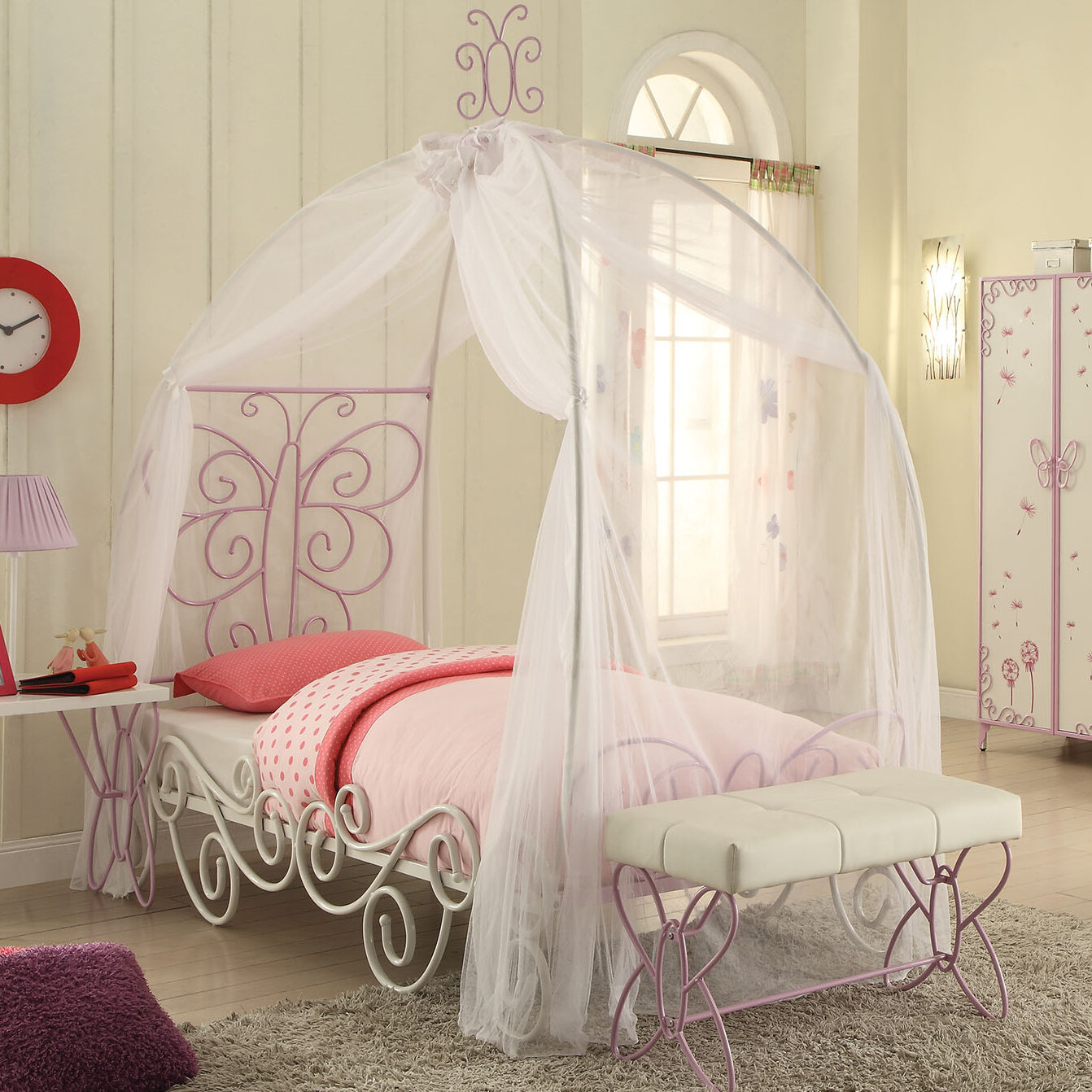 ACME Furniture Priya II Canopy Bed | Wayfair