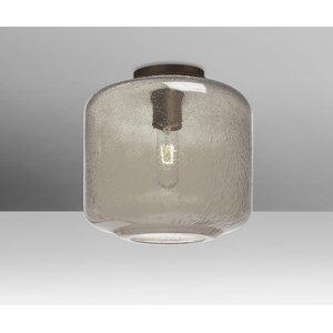 Spero Ceiling Cylinder 1-Light Semi Flush Mount