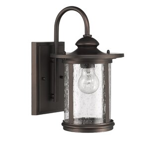 Ashendon 1-Light Outdoor Wall Lantern