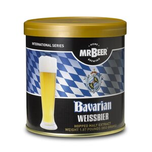 Mr. Beer Bavarian Wiessbier Beer Making Refill Kit