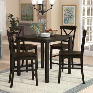Skiatook 5 Piece Counter Height Dining Set