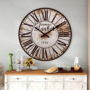 fresh idea whimsical clocks. 47  Farmers Market Oversized Wall Clock Windmill Wayfair