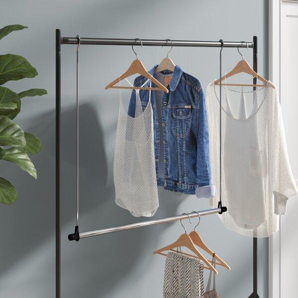 Double Hanging Closet Rod | Wayfair