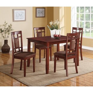 Wantage 5 Piece Dining Set