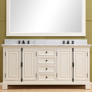 double bathroom vanity. Freemont 72  Double Bathroom Vanity Set Vanities You ll Love Wayfair