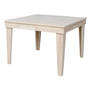 Theodosia Fixed Top Solid Wood Dining Table