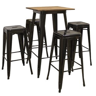 Robinson 5 Piece Pub Table Set