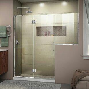 Hinged Shower Amp Bathtub Doors You Ll Love Wayfair