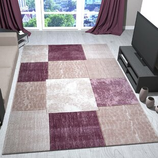 Pink Area Rug by House Additions