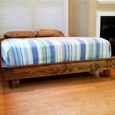 Peacelovewood Ava Solid Wood Platform Bed Wayfair