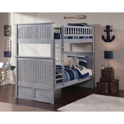 Hatcher Loft Bed Gray Wayfair