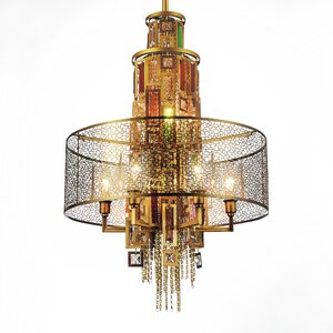 Hazel 11-Light Drum Chandelier