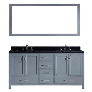 Modern Contemporary 60 Inch Vanity Top Double Sink Allmodern
