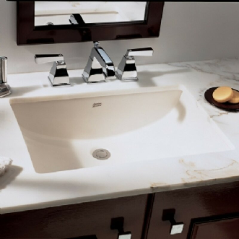 American Standard Studio Ceramic Rectangular Undermount Bathroom ...