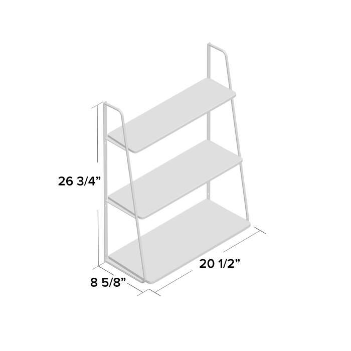 Latitude run ranjeet 3 tier display wall shelf reviews wayfair ranjeet 3 tier display wall shelf ccuart Image collections