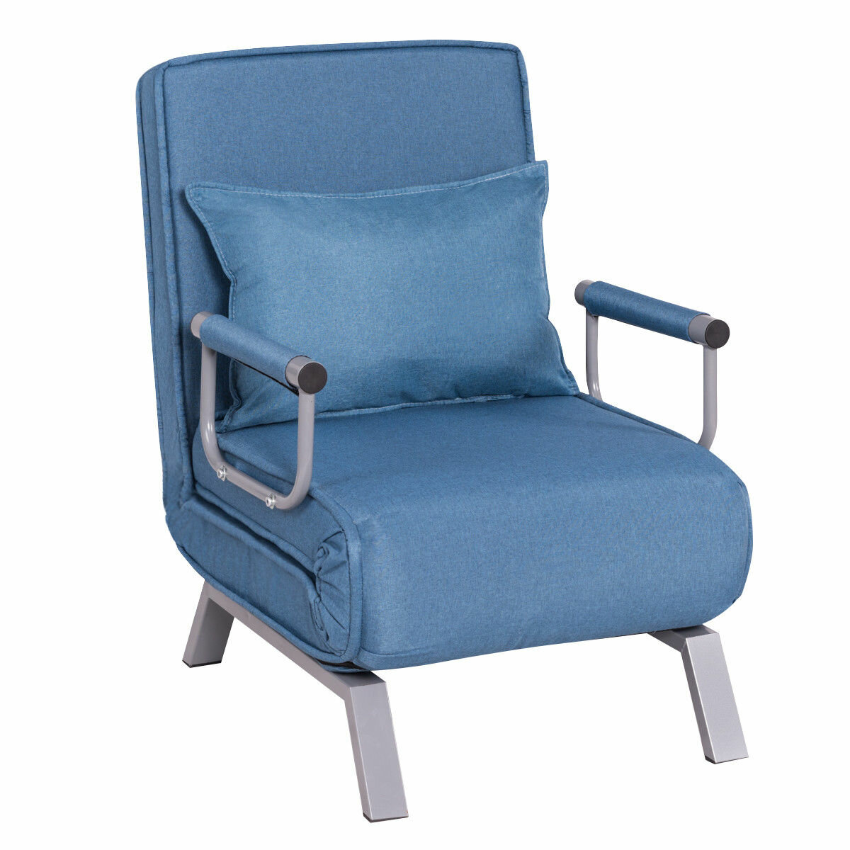 Ebern Designs Woodbluff Folding Convertible Sofa Bed | Wayfair