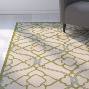 Grant Lime/Beige Indoor/Outdoor Area Rug