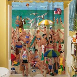 Makarand Qui Shower Curtain