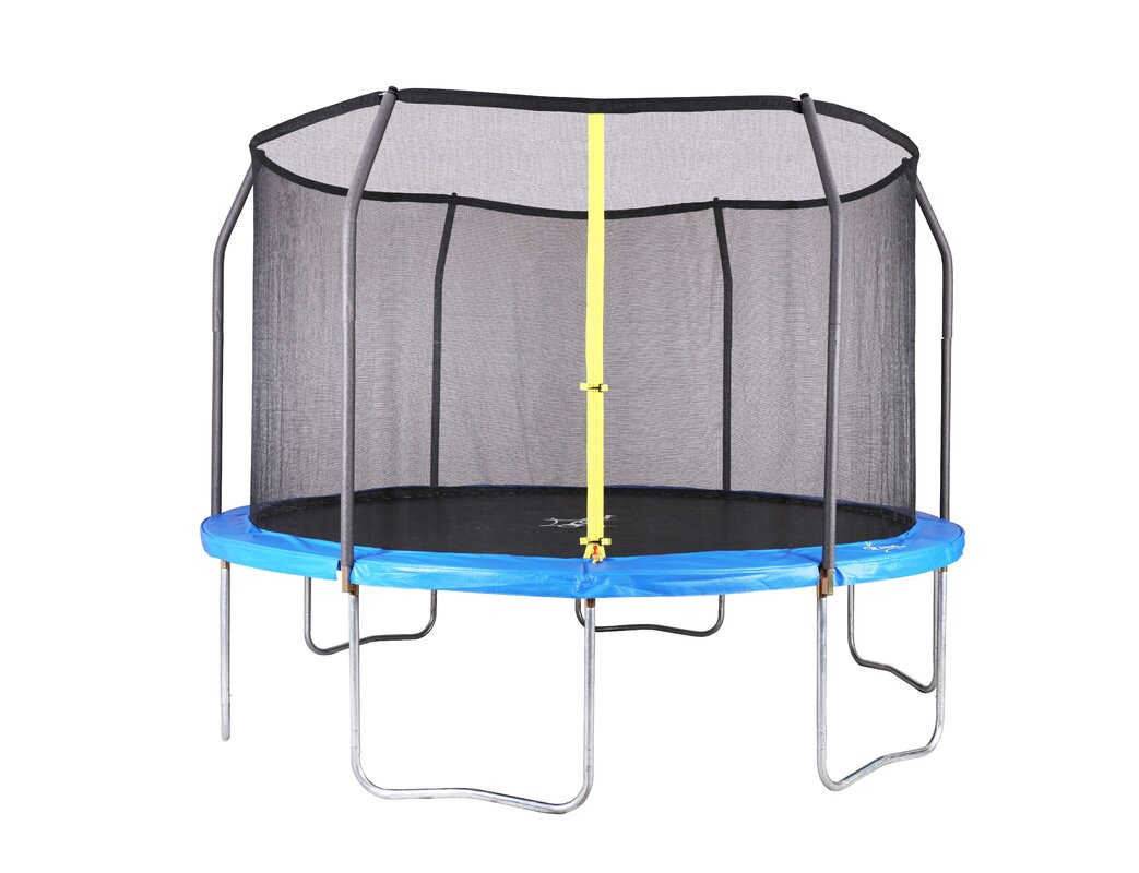 Exceptionnel Backyard Jump 12u0027 Round Trampoline With Safety Enclosure